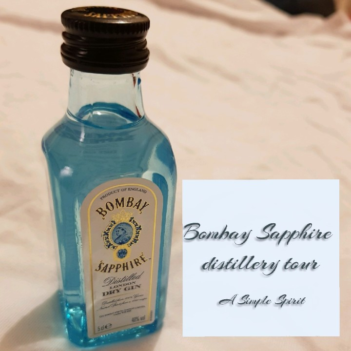 Bombay Sapphire distillery tour